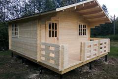 Дачный дом по индивидуальному проекту 6х5 м