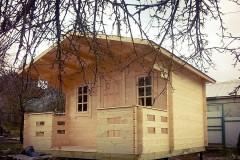 """Деревянный садовый домик """"КРЕПЫШ +"""""""