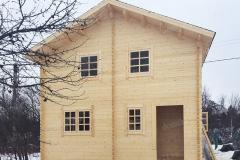 Двухэтажный дом 6,0х4,5 по индивидуальному проекту