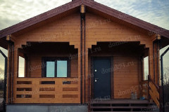 Деревянный дом 6 х 9 м. для постоянного проживания