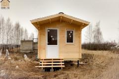 Небольшой дачный домик 3 х 3 м.