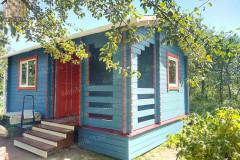 Деревянный дом 6х4 из бруса