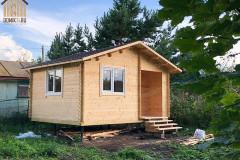 Садовый дом из мини-бруса 5 х 4 м.