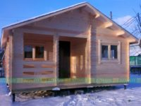 Дом из бруса «Золотая Середина»