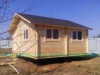 Дом из бруса «Топ-Дом»