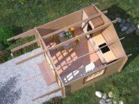 Садовый домик «ЭТАЛОН»