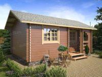 Дачный дом «Уютная берлога»