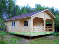 Дом из бруса «Хоромы» 6 x 9