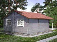 Дом из бруса «Лабиринт»
