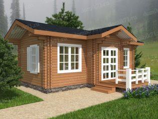 дом студия деревянный