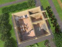 деревянный дом для постоянного проживания