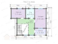 деревянный дом 120 кв м