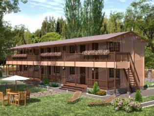 Деревянная гостиница