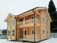 жилой деревянный дом 4 спальни
